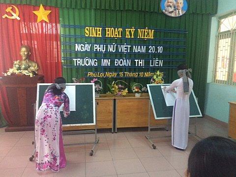 sinh hoạt ngày thành lập hội liên hiệp phụ nữ Việt Nam 20/10